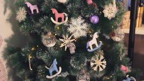 Εγχώρια ντεκόρ χειμερινών Χριστουγέννων φιλμ μικρού μήκους
