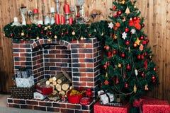 Εγχώρια ντεκόρ χειμερινών Χριστουγέννων στοκ εικόνες με δικαίωμα ελεύθερης χρήσης