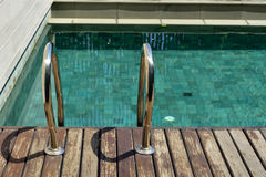 Εγχώρια πισίνα Στοκ εικόνα με δικαίωμα ελεύθερης χρήσης