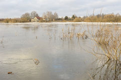 Εγχώρια πλημμύρα Στοκ εικόνα με δικαίωμα ελεύθερης χρήσης