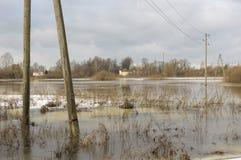 Εγχώρια πλημμύρα Στοκ φωτογραφίες με δικαίωμα ελεύθερης χρήσης