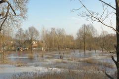 Εγχώρια πλημμύρα Στοκ εικόνες με δικαίωμα ελεύθερης χρήσης