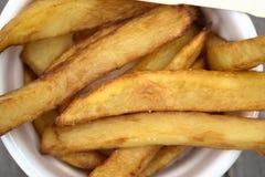 Εγχώρια τηγανητά στα κύπελλα για το πρόχειρο φαγητό Στοκ εικόνες με δικαίωμα ελεύθερης χρήσης