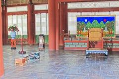 Εγχώριες επιπλώσεις ζωής της Κορέας αρχαίες στοκ εικόνες με δικαίωμα ελεύθερης χρήσης