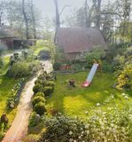 Εγχώριο γλυκό σπίτι στοκ εικόνες με δικαίωμα ελεύθερης χρήσης