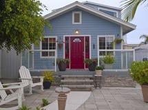 Εγχώριο γλυκό σπίτι Point Loma Σαν Ντιέγκο Καλιφόρνια. Στοκ Εικόνα