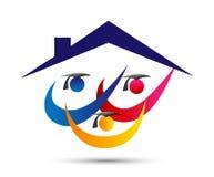 Εγχώριο λογότυπο εκπαίδευσης, άνθρωποι, εορτασμός, σχολικό λογότυπο απόφοιτων φοιτητών, βαθμολογημένο εκπαίδευση λογότυπο ένωσης απεικόνιση αποθεμάτων