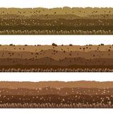 Εδαφολογικά στρώματα καθορισμένα απεικόνιση αποθεμάτων