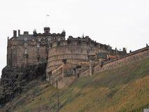 Εδιμβούργο Castle στο Καστλ Ροκ στοκ φωτογραφίες με δικαίωμα ελεύθερης χρήσης
