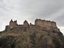 Εδιμβούργο Castle στο Καστλ Ροκ στοκ φωτογραφία με δικαίωμα ελεύθερης χρήσης