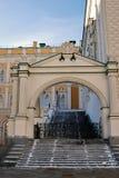 Εδροτομημένη πολύτιμους λίθους αίθουσα στη Μόσχα Κρεμλίνο Περιοχή παγκόσμιων κληρονομιών της ΟΥΝΕΣΚΟ Στοκ φωτογραφία με δικαίωμα ελεύθερης χρήσης