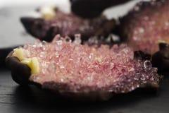 Εδώδιμα κρύσταλλα ζάχαρης Στοκ Εικόνα