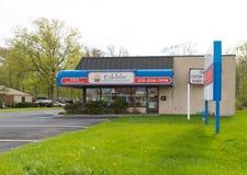 Εδώδιμο κατάστημα ρυθμίσεων, πρόσφατα αγορασμένο εμπορικό σήμα FluitFlowers στοκ εικόνες με δικαίωμα ελεύθερης χρήσης