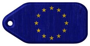 ΕΕ, σημαία της Ευρωπαϊκής Ένωσης Στοκ φωτογραφίες με δικαίωμα ελεύθερης χρήσης