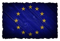 ΕΕ, σημαία της Ευρωπαϊκής Ένωσης Στοκ εικόνες με δικαίωμα ελεύθερης χρήσης