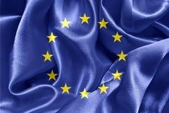 ΕΕ σημαιών Στοκ Φωτογραφία