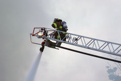 εθελοντής πυροσβέστης ι Στοκ Εικόνα