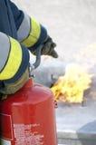 εθελοντής πυροσβέστης Στοκ εικόνες με δικαίωμα ελεύθερης χρήσης
