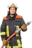εθελοντής πυροσβέστης Στοκ Φωτογραφίες