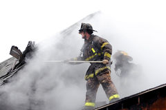 εθελοντής πυροσβέστης Στοκ φωτογραφία με δικαίωμα ελεύθερης χρήσης