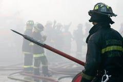 εθελοντείς πυροσβέστ&epsilo στοκ εικόνα με δικαίωμα ελεύθερης χρήσης