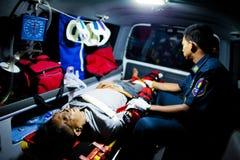 Εθελοντικό EMTs Στοκ Εικόνα