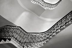 Εθιμοτυπική κυκλική σκάλα Στοκ Φωτογραφίες