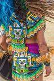 Εθιμοτυπικό φόρεμα αμερικανών ιθαγενών Στοκ εικόνες με δικαίωμα ελεύθερης χρήσης