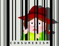 Εθισμός καταναλωτισμού Στοκ εικόνες με δικαίωμα ελεύθερης χρήσης