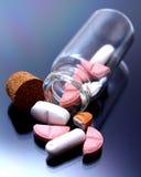 Εθισμός στα ναρκωτικά - βιομηχανία φαρμάκων Στοκ Φωτογραφία