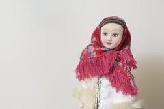 Εθνικά ενδύματα στις κούκλες Στοκ Εικόνα