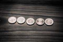 Εθνικά ευρο- νομίσματα επετείου Λετονικό νόμισμα - μονοχρωματικό β Στοκ εικόνες με δικαίωμα ελεύθερης χρήσης
