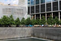 Εθνικά μνημείο στις 11 Σεπτεμβρίου & μουσείο, οδός του Γκρήνουιτς, NYC Στοκ φωτογραφία με δικαίωμα ελεύθερης χρήσης