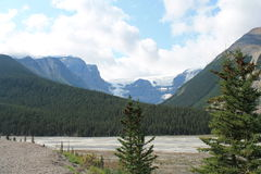 Εθνικά πάρκα του Καναδά Στοκ Εικόνα
