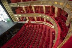 Εθνικές θέατρο και Όπερα Βελιγραδι'ου Σερβία στοκ φωτογραφίες