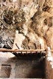 Εθνικές κατοικίες απότομων βράχων μνημείων Tonto, εθνική υπηρεσία πάρκων, U S Τμήμα του εσωτερικού Στοκ Φωτογραφίες