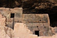 Εθνικές κατοικίες απότομων βράχων μνημείων Tonto, εθνική υπηρεσία πάρκων, U S Τμήμα του εσωτερικού Στοκ Εικόνες
