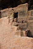 Εθνικές κατοικίες απότομων βράχων μνημείων Tonto, εθνική υπηρεσία πάρκων, U S Τμήμα του εσωτερικού στοκ φωτογραφία με δικαίωμα ελεύθερης χρήσης