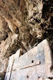Εθνικές κατοικίες απότομων βράχων μνημείων Tonto, εθνική υπηρεσία πάρκων, U S Τμήμα του εσωτερικού Στοκ εικόνα με δικαίωμα ελεύθερης χρήσης