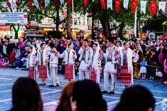 Εθνικές κυριαρχία και ημέρα των παιδιών στην Τουρκία Στοκ Φωτογραφίες