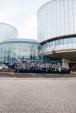Εθνικές μέρες του πένθους στη Γαλλία Στοκ φωτογραφία με δικαίωμα ελεύθερης χρήσης