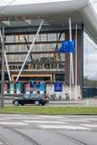 Εθνικές μέρες του πένθους στη Γαλλία Στοκ εικόνες με δικαίωμα ελεύθερης χρήσης