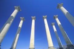 Εθνικές στήλες Capitol, εθνικός δενδρολογικός κήπος, Ουάσιγκτον, Δ Γ στοκ φωτογραφίες με δικαίωμα ελεύθερης χρήσης