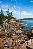 Εθνική ακτή πάρκων Acadia Στοκ εικόνα με δικαίωμα ελεύθερης χρήσης