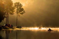 εθνική ανατολή πάρκων pangung Στοκ Εικόνες