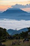 Εθνική ανατολή πάρκων Nam Dang Huai σε Campgrounds, Mae Tang, Chiang Mai, Ταϊλάνδη Στοκ εικόνα με δικαίωμα ελεύθερης χρήσης