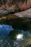 εθνική αντανάκλαση πάρκων kakadu της Αυστραλίας Στοκ Εικόνα