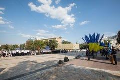 Εθνική αστυνομία της Ουκρανίας Στοκ εικόνες με δικαίωμα ελεύθερης χρήσης