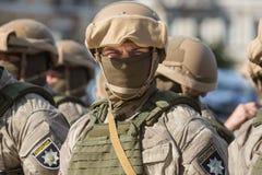 Εθνική αστυνομία της Ουκρανίας Στοκ Φωτογραφίες
