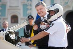 Εθνική αστυνομία της Ουκρανίας Στοκ Εικόνα